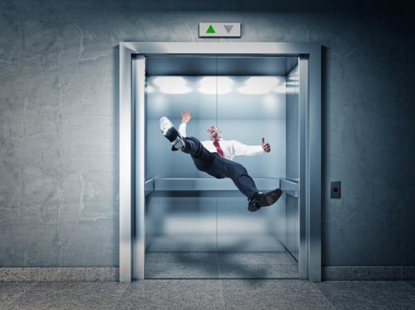 Qué significa soñar un ascensor - Significado de soñar con un ascensor que se cae